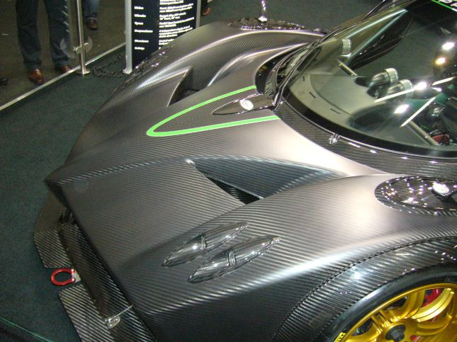 Zonda Roadster from Pagani Automobili. Can you die-press that shape from a metal sheet? Let me know